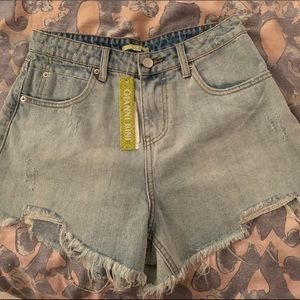 NWT GB Jean Shorts